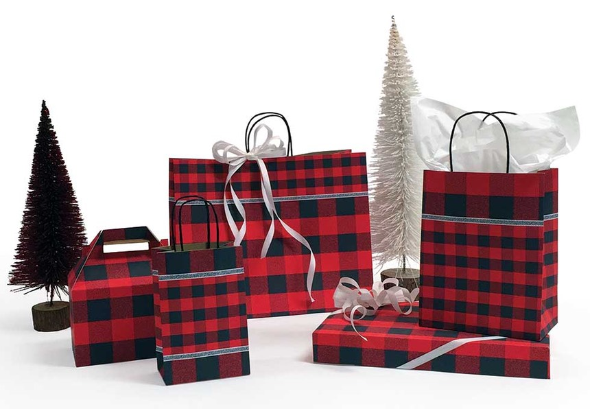 Festive Flannel Holiday Packaging